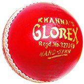 Khanna Glorex Leather Cricket Ball 3 Ball Set