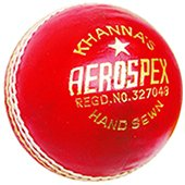 Khanna Aerospex Leather Cricket Ball 12 Ball Set