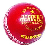 Khanna Aerospex Super Leather Cricket Ball 3 Ball Set