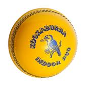 Kookaburra Indoor PUC Yellow Cricket Ball