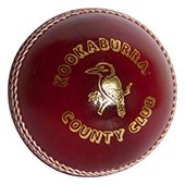 Kookaburra County Club Cricket Ball 3 Ball Set