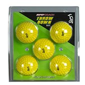 Kookaburra Throw Down Cricket Ball 5 Ball Set