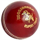 Kookaburra Super Test Cricket Ball 3 Ball Set Red