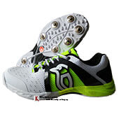 Kookaburra KCS 2000 Spike Cricket Shoes Fluo Yellow