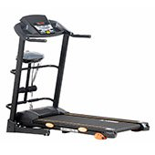 Kobo 2 HP Motorized Treadmill Vibrator Sit Up Jogger For Home Gym Cardio Fitness Ab Care Rocket King Imported
