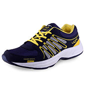 Lancer Running Shoes Blue and Yellow