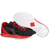 Lining ABPJ029 3 Basketball Shoes Red and Black
