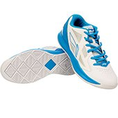 Lining ABPJ029 5 Basketball Shoes White and Sky Blue