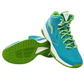 Lining ABPJ035 1 Basketball Shoes Green and Sky Blue