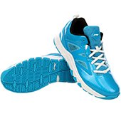 Lining ABPJ045 3 Basketball Shoes Sky Blue and White