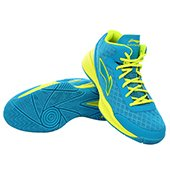 Lining ABPJ047 1 Basketball Shoes Blue and Green