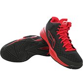 Lining ABPJ047 3 Basketball Shoes Black and Red