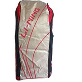 Lining ABSJ402 Badminton Kit Bag  Red and Golden color