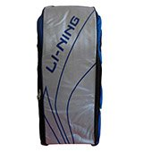 Lining ABSJ402 Badminton Kit Bag ABSJ402 Blue and Silver color