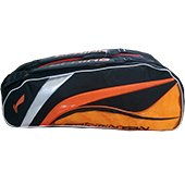 Lining ABDL074 Badminton Kit Bag ABDL074 Orange and Black color