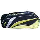 Lining ABDL074 Badminton Kit Bag ABDL074 Lime and Black color