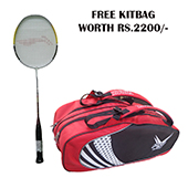 Offer on Li Ning G Force Power 1000 Badminton Racketand Thrax kitbag