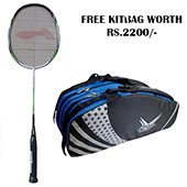 Offer on Li Ning G Force Pro 2000 Badminton Racket and Thrax kitbag