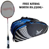 Offer on Li Ning G Force Pro 2200 Badminton Racket and Thrax kitbag