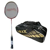 Offer On Li Ning G Force Pro 2200 i Badminton Racket and Thrax Revo Kitbag