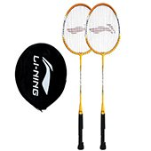 Offer on 2 Set of Li Ning Smash XP 710 Badminton Racket