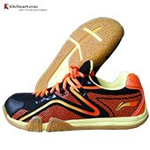 LiNing XYLO Super Light Badminton Shoes Black and Orange