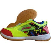 Li Ning Star Icon 2 Badminton shoe Lime Color