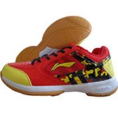 Li Ning Star Icon 2 Badminton shoe Red Color