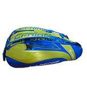 LiNing ABDG352 Badminton Kit bag Blue and Lime