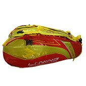 LiNing ABDG352 Badminton Kit bag Red and Yellow