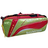 Li Ning ABDH116 3 Badminton kit Bag Lime