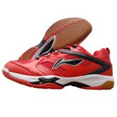 Li Ning Champion Red Badminton Shoes
