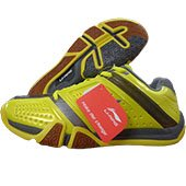 Li Ning Hero No. 1 Badminton Shoes Yellow