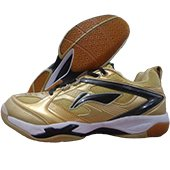 Li Ning Champion Golden Badminton Shoes