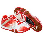 Li Ning SAGA Galaxy AYTJ059 1 Badminton Shoes Red and White