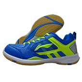 Li Ning Star Icon AYTK071 3 Badminton Shoes Blue and Green