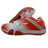 Li Ning Hero No. 1 LTD ED Badminton Shoes Red and White