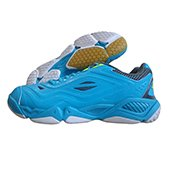 Li Ning AYTJ 041 Training Badminton Shoes Blue and White
