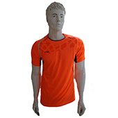 Li Ning Badminton T Shirt A A Y J 025 Orange Size Large