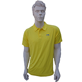 LiNing T Shirt Mens polo Tee half sleeve Yellow Size XL