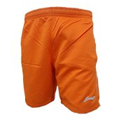 LiNing Badminton Shorts Orange Lifestyle
