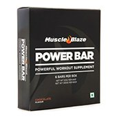 MuscleBlaze Power Bar 6 Pieces Pack Chocolate