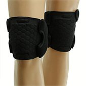 McDavid 6443 Indoor Turtle Knee Pads Black Small,Medium