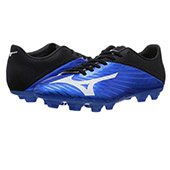Mizuno Basara 103 MD FG Football Shoes diva blue and white