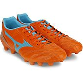 Mizuno Monarcida FS MD Wide Shoes VibrantOrange and BlueAtoll
