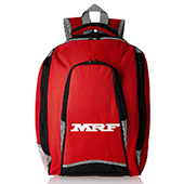 MRF Casual Backpack Red and Black