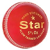 MRF Star Alam Tanned Cricket Ball 3 Ball set