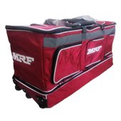 MRF Genius L E KITBAG with Trolly and 3 wheels