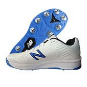 New Balance CK4030 B4 Spike Cricket Shoes White Blue