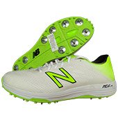 New Balance CK10 L3 Cricket Shoes White and Fluo Green